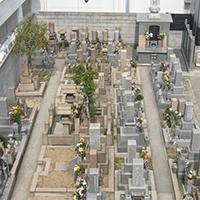 檀家用墓地