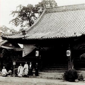 戦前の本堂・庫裏